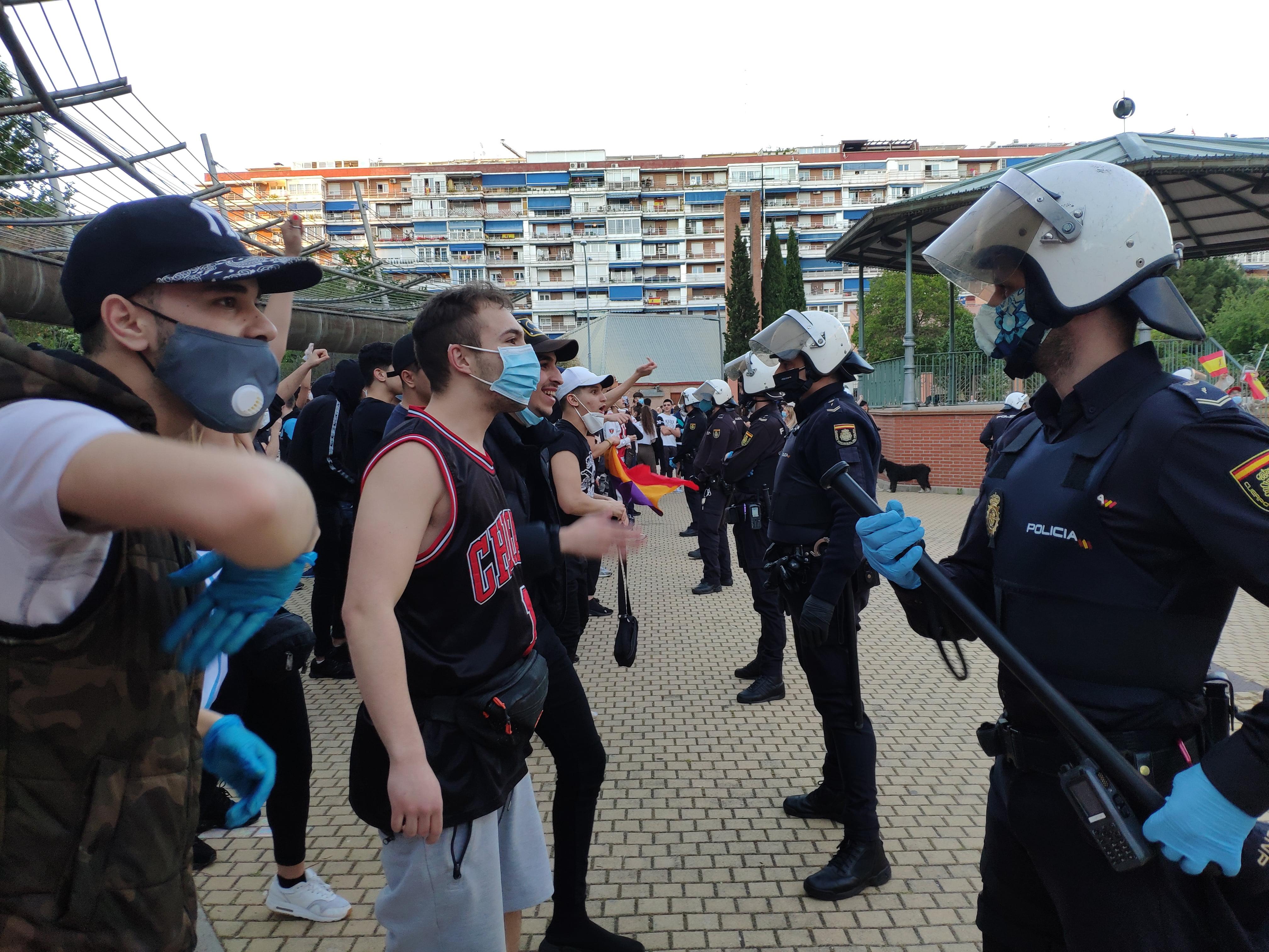 Concentración en Alcorcón, Madrid