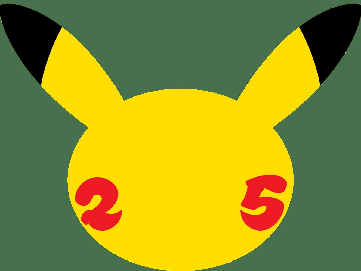 Logo 25 aniversario de Pokémon