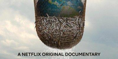 "Cartel del documental ""Seaspiracy: La pesca insostenible"""