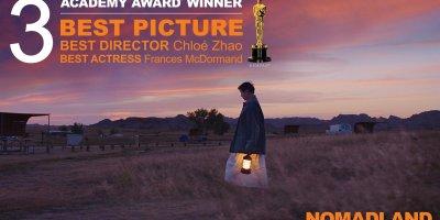 Nomadland se lleva tres premios Oscar en la 93 edición de los Premios Oscar